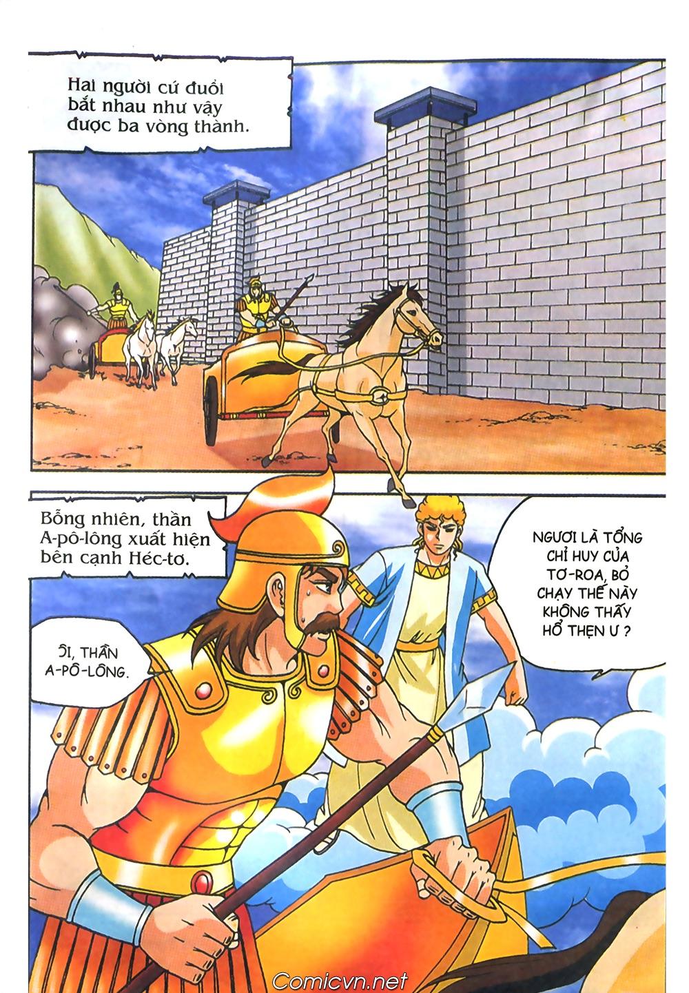 Thần Thoại Hy Lạp Màu - Chapter 61: So tài của hai vị tướng - Pic 19