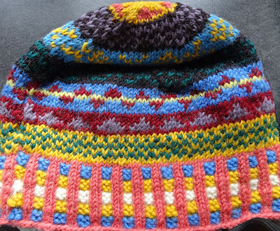 Colorful toque