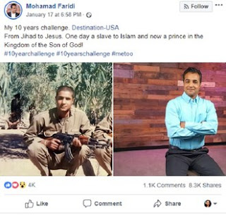 Man shares interesting story of how he converted from Islam to Christianity (Photos)