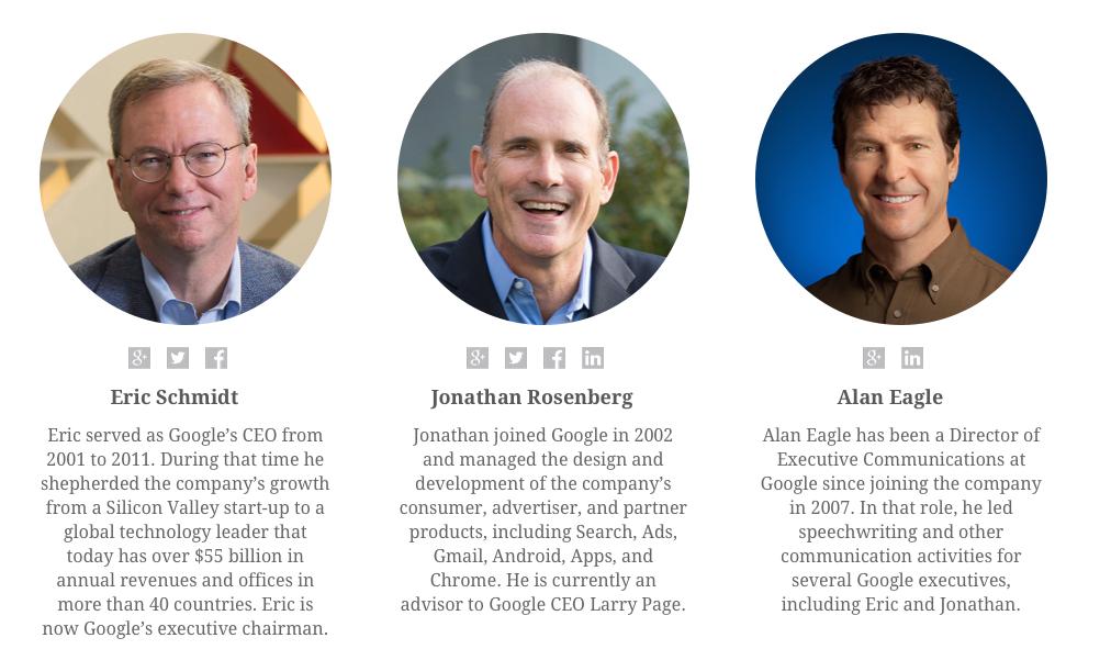 Google Nasil Yonetiliyor? (Kitap) How Google Works