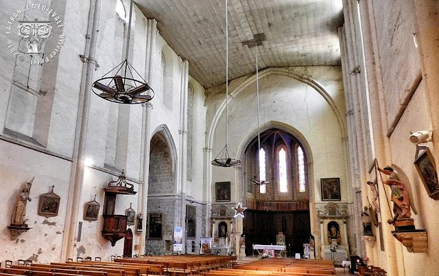 LAUDUN-L'ARDOISE (30) - Eglise Notre-Dame-la-Neuve (1327-1352)
