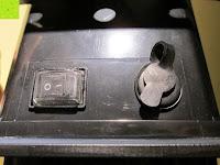 Buchse verschlossen: as - Schwabe Chip-LED-Akku-Strahler 10 W, geeignet für Außenbereich, Gewerbe, blau, 46971