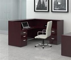 Cordovan Reception Desk