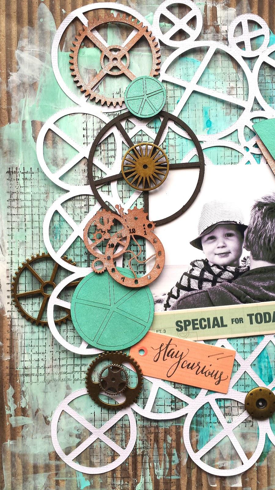 happy arty days imaginarium designs september layouts