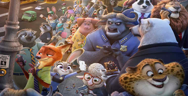 Zootopia 2016 English Movie Download Free HD DVDrip