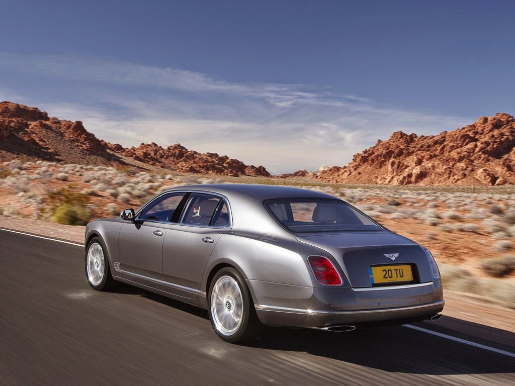 bentley mulsanne back View image