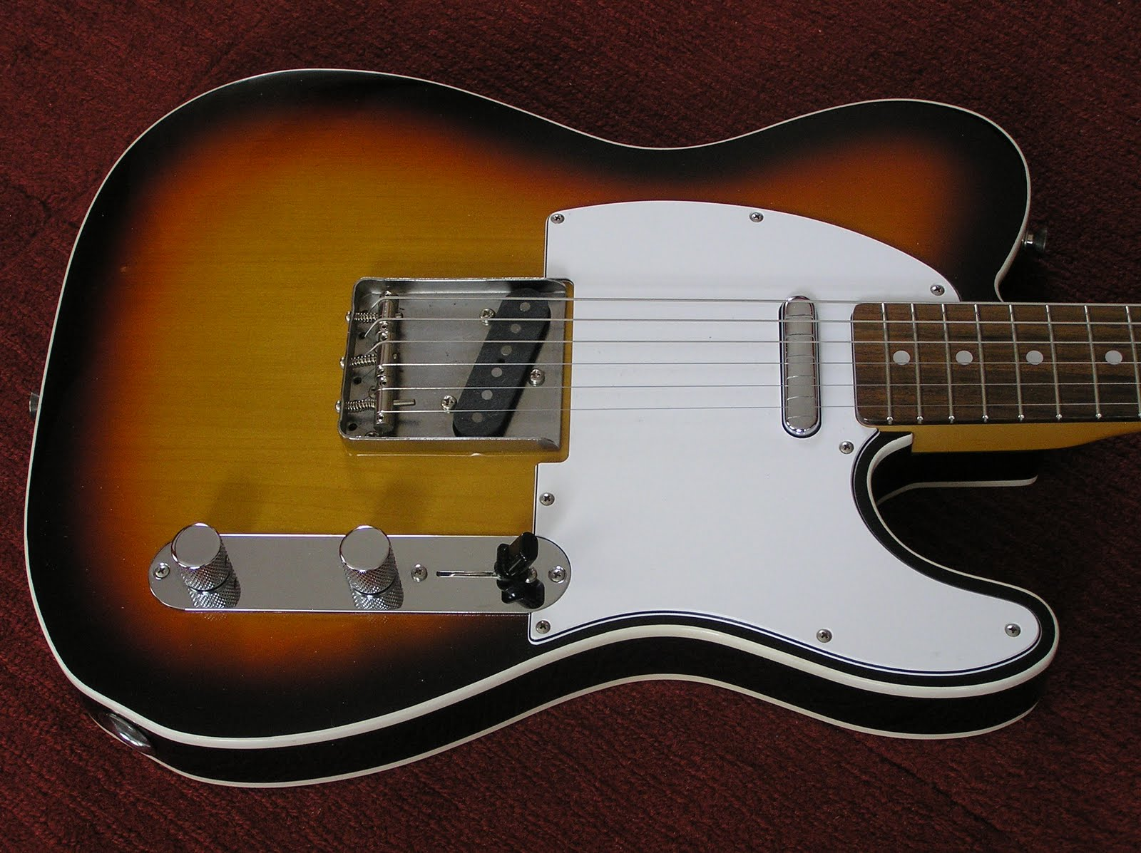 Telecaster Two Humbuckers Wiring Diagram