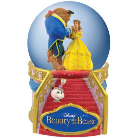Disney Snowglobes Collectors Guide Beauty And The Beast Snowglobe