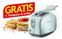 Logo Casa Henkel ti regala T-Brunch, il Tostapane metal di Ariete del valore di 40€ Gratis!
