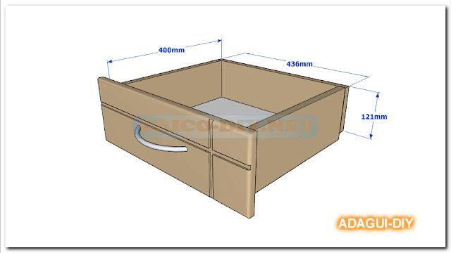 cajones de mdf para muebles  Web del Bricolaje Diy diseño y muebles