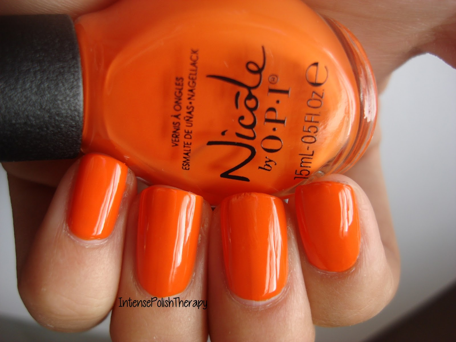 Nicole by OPI - The Look is Orange