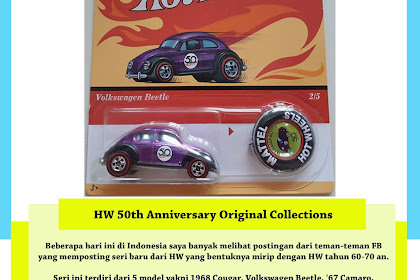 Hot Wheels 50th Anniversary Original Collections