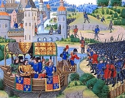 Richard II meets the rebels