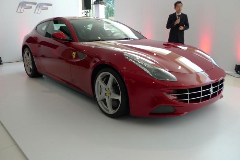 Malaysia Supercar: Ferrari FF 4wd 4 seater launch in ...