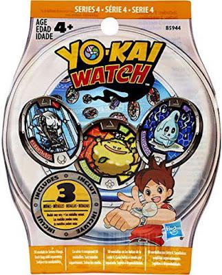 JUGUETES - YO-KAI WATCH Serie 4 : Sobres sorpresa medallas Hasbro 2016 | YOKAI | A partir de 4 años Producto Oficial | Coleccionalas Comprar en Amazon España