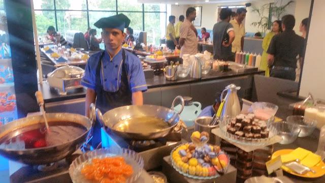 Live Dessert Counter