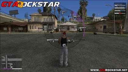 Mod Novo HUD GTA V Modificado + Bônus para GTA San Andreas