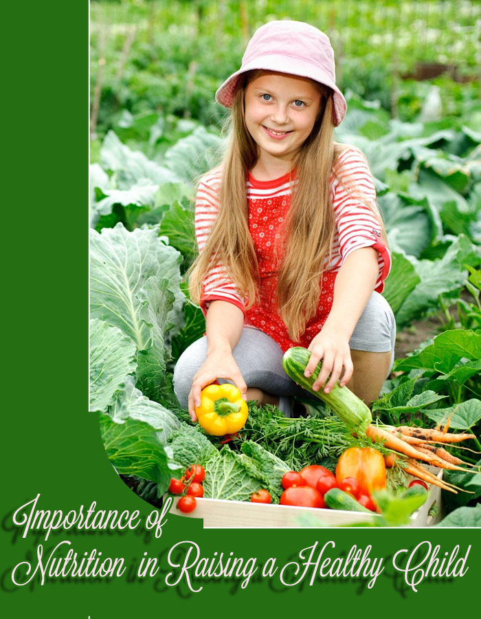 Importance of Nutrition in Raising a Healthy Child