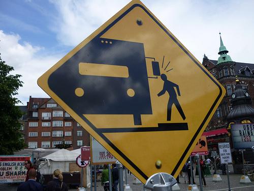 Amper Bae Funny Traffic Signs