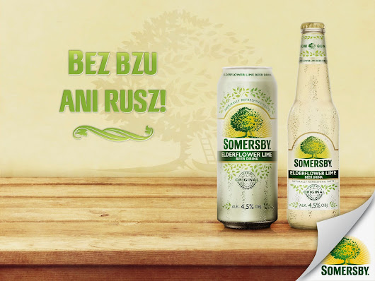 Lord Somersby i jego nowy smak Edelflower Lime