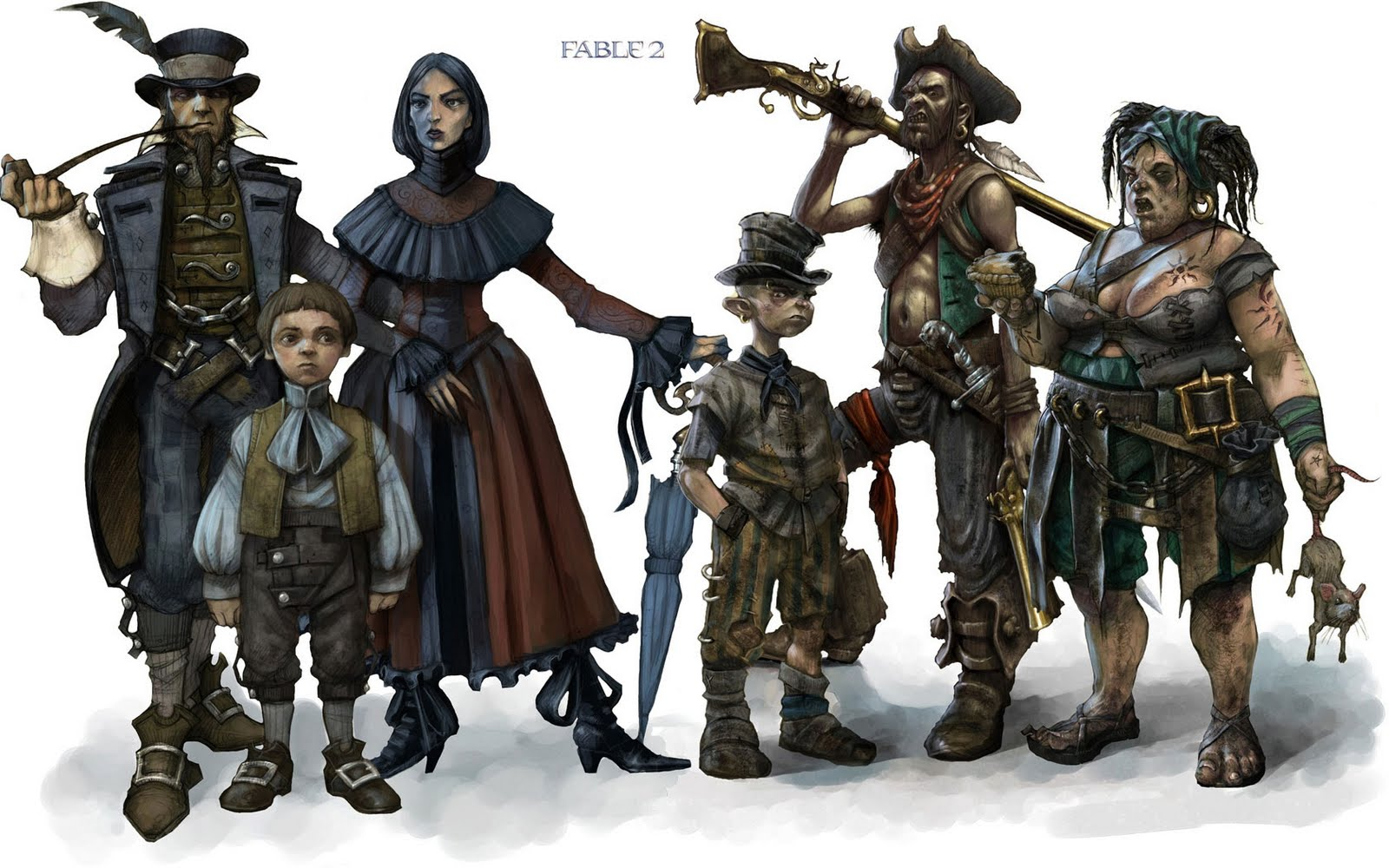 Dominic Lim's Design Dashboard: Fable 2: A Disappointment