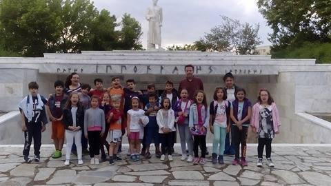 Στο Μουσείο του Ιπποκράτη τα παιδιά των Κέντρων Δημιουργικής Απασχόλησης Λάρισας (ΦΩΤΟ)