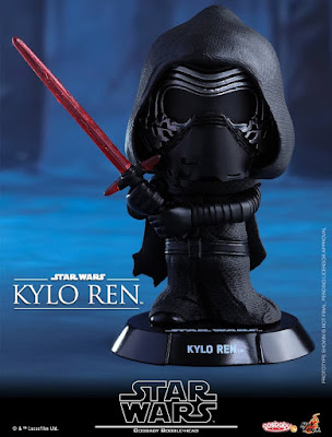 Star Wars: The Force Awakens Cosbaby Series 1 Vinyl Figure Bobble Heads by Hot Toys - Kylo Ren