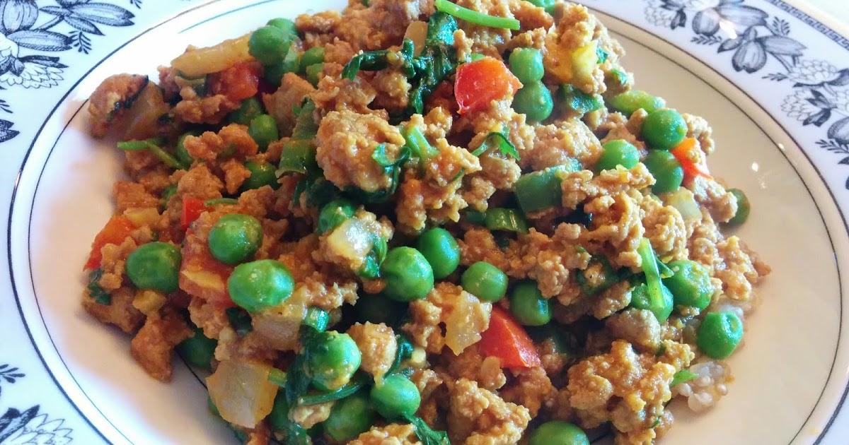 Got it, Cook it: Turkey Keema Curry with Peas