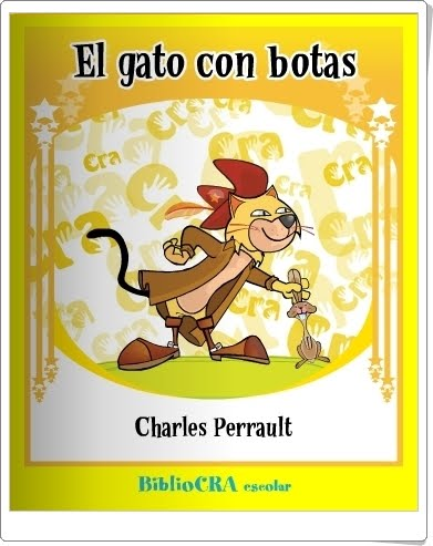 """""""El gato con botas"""" de Charles Perrault (Libro digital)"""