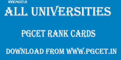 KU PGCET Rank Card 2019 download Kakatiya University counselling @kupgcet.com