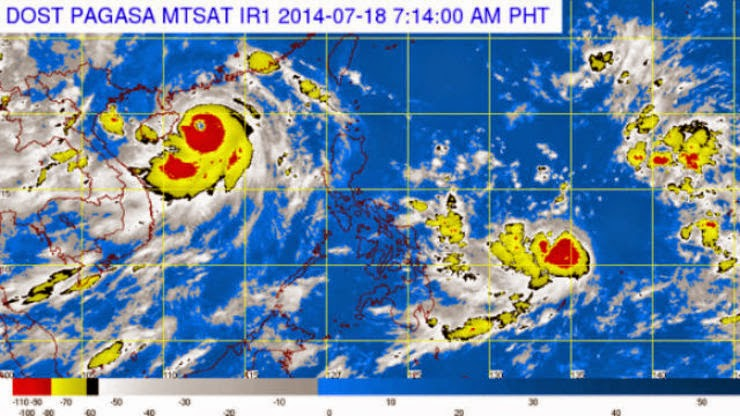 No classes at all levels in Kawayan and Naval towns in Biliran Island due to typhoon Henry #WalangPasok