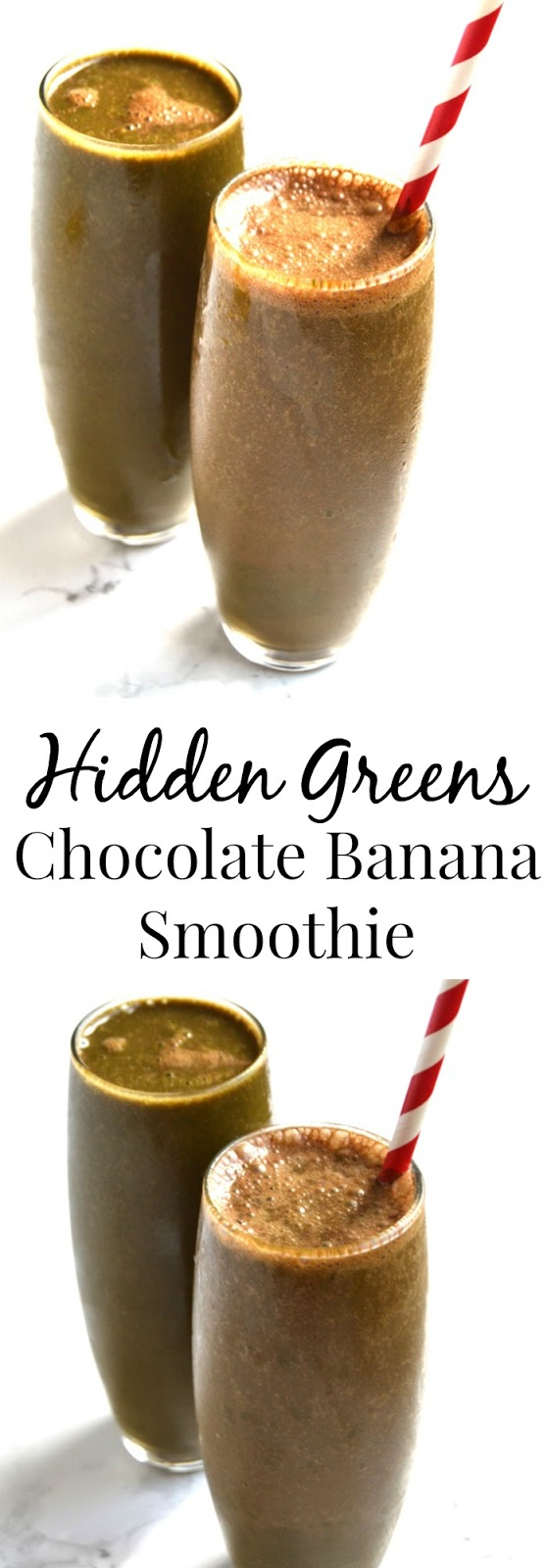 The Nutritionist Reviews: Hidden Greens Chocolate Banana Smoothie