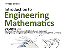 Engineering Mathematics III Book for B.Tech 2nd Year (AKTU)