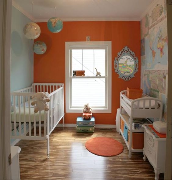 Colorful Nursery: Help Me Grow: Painting Your Nursery...It's More Than Just