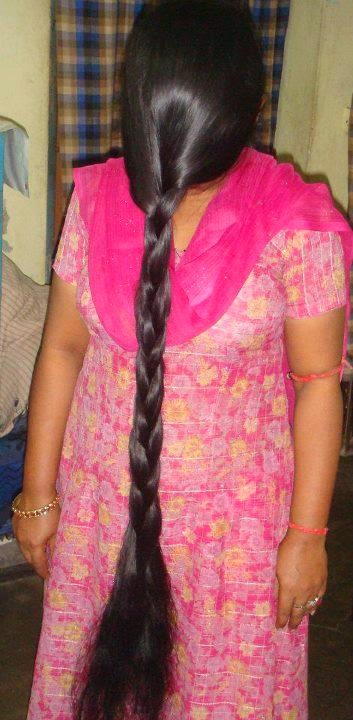 Long Hair Over Face Indian Long Thick Hair Women 2