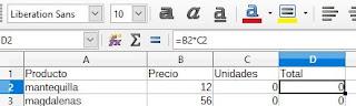 Función Solver en Libreoffice Calc