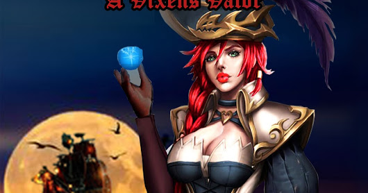 "Gin's (Jen) newest book is live ""Pirate Vixen of the Red Dawn"""