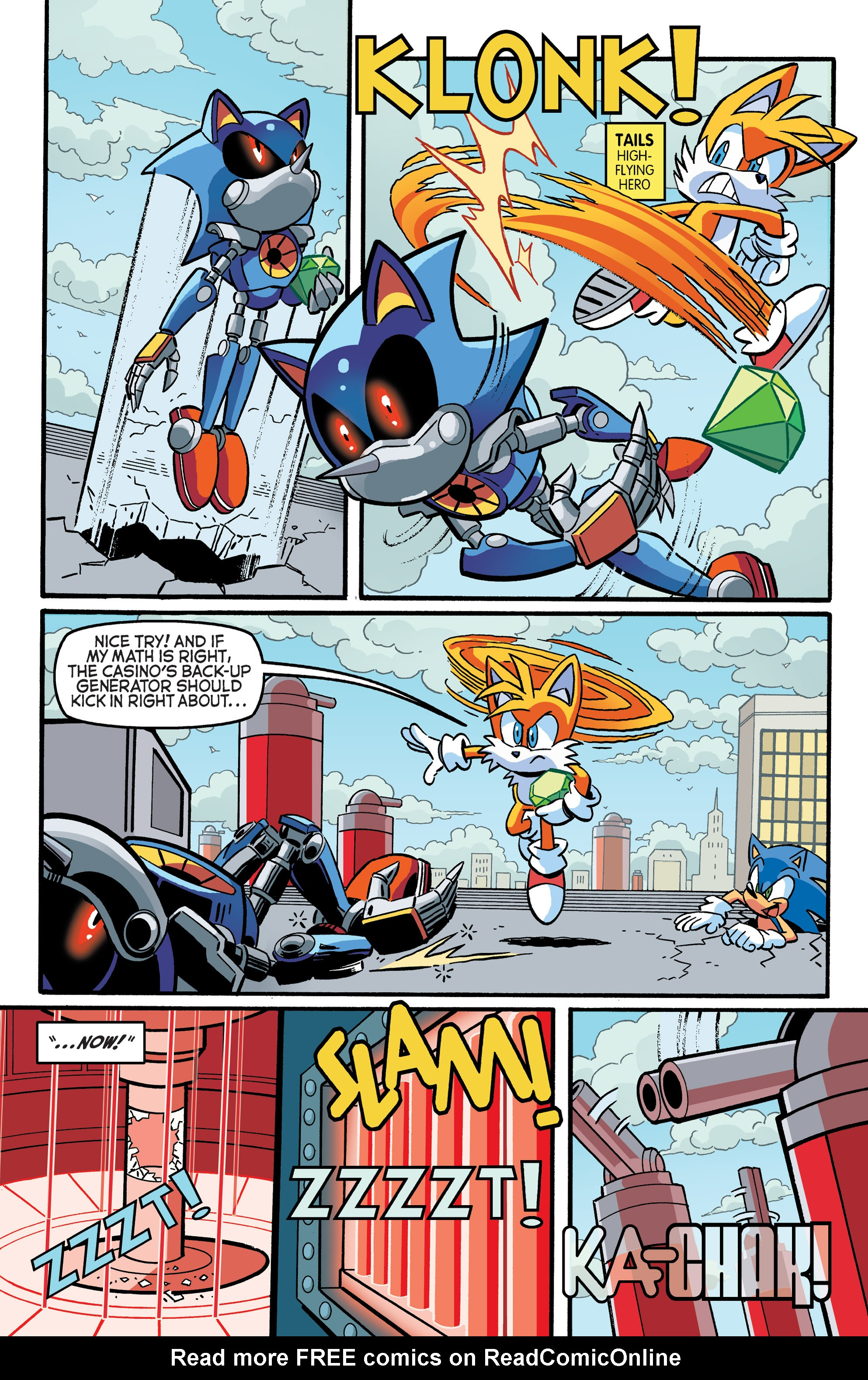 Read online Sonic The Hedgehog comic -  Issue #271 - 15