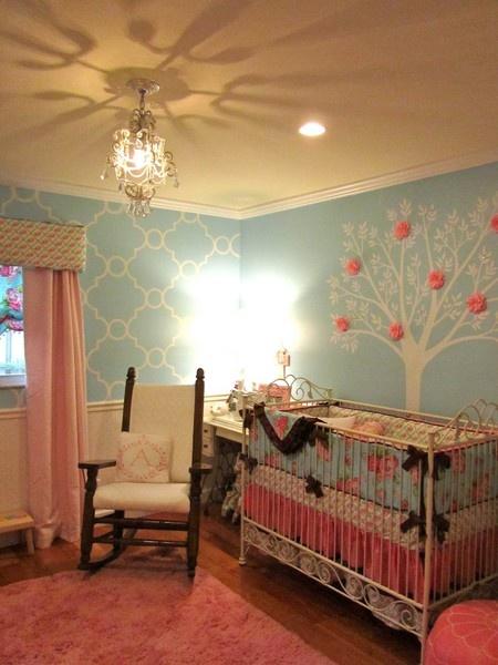 Habitaciones para beb ni a dormitorios colores y estilos - Habitaciones bebes nina ...