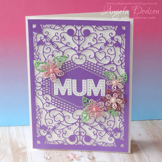 Mother's Day Card - Step by Step - Papermilldirect DT