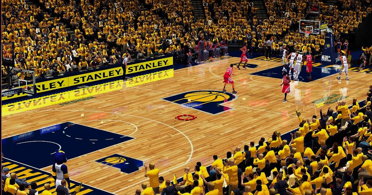 DNA Of Basketball   DNAOBB: NBA 2K17 Indiana Pacers Court ...