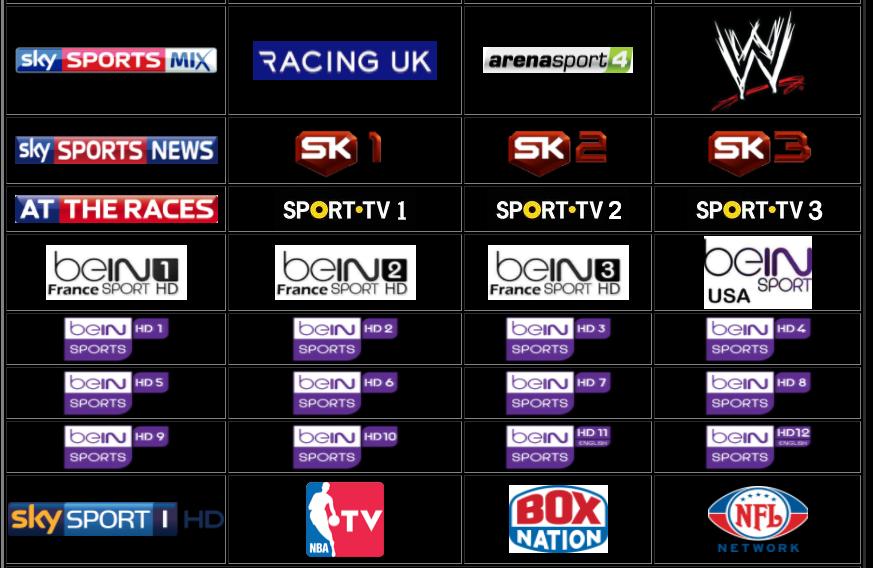 Iptv All Channels Are World In Sportbein Sportجميع قنوات