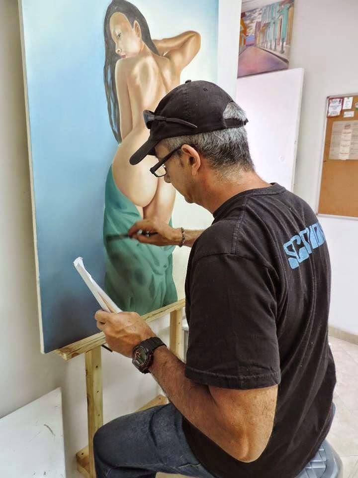 artista colombiano Jorge Marín