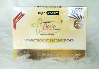 Night Cream (Krim Malam) Florin Skin Care Baru