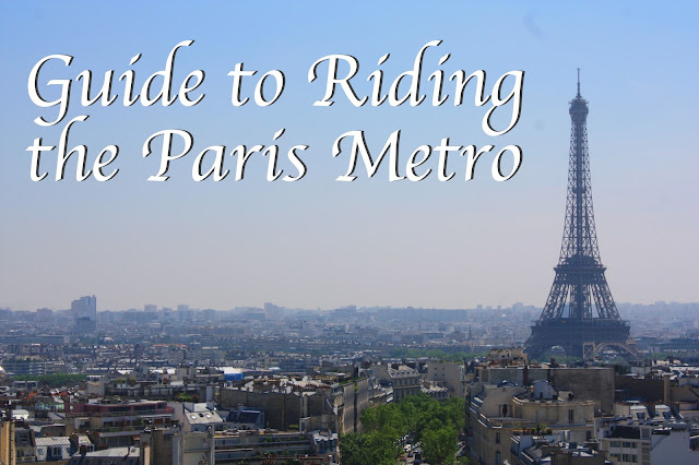 Title card: image of Paris and caption: Guide to Riding the Paris Metro