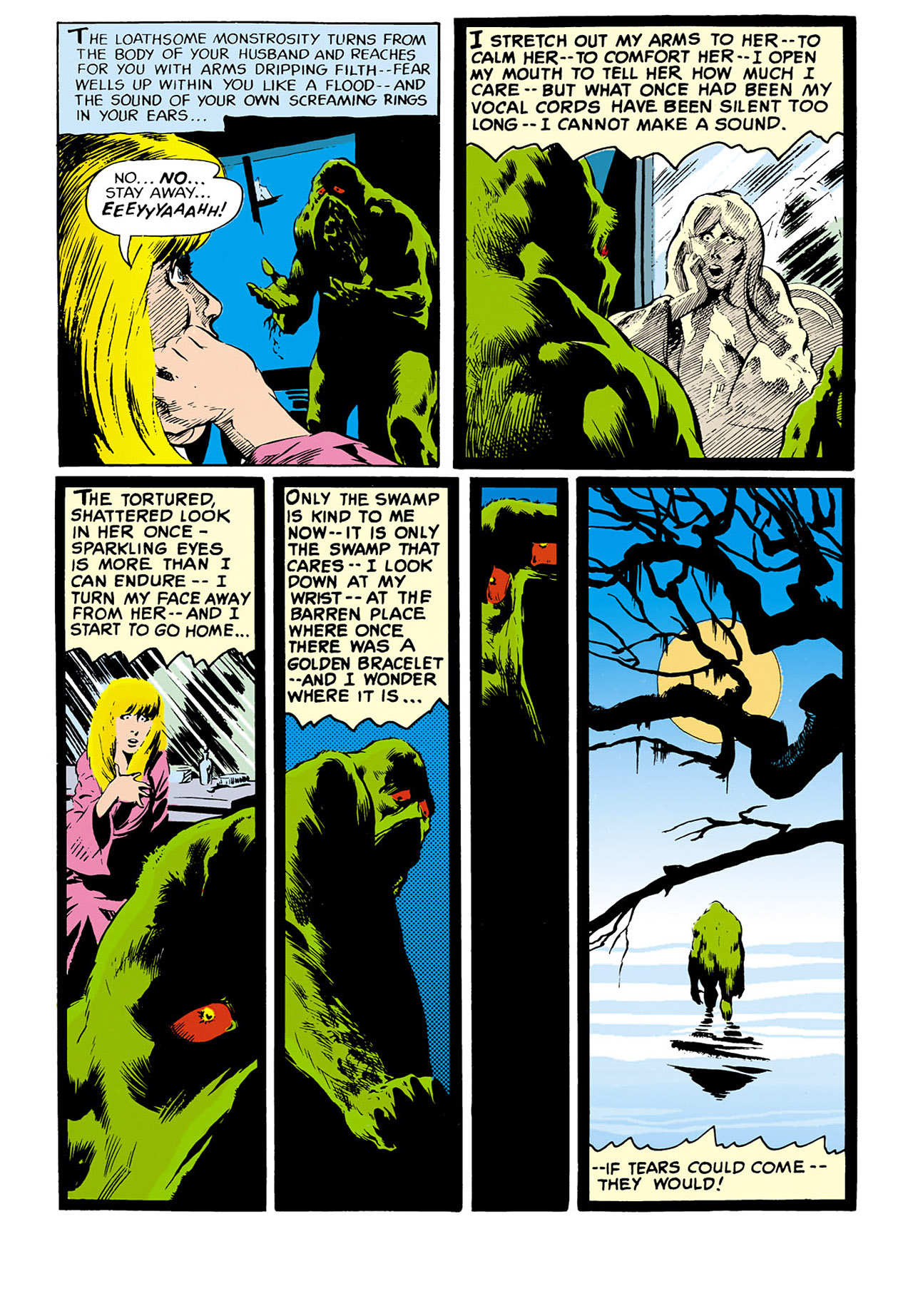 Swamp Thing (1982) Issue #33 #41 - English 15