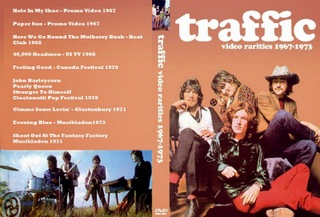 TRAFFIC - VÍDEO RARITIES - 1967 A 1973