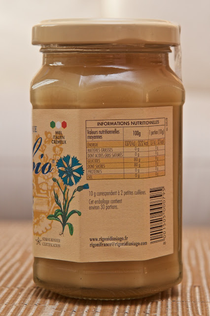 Mielbio de Fleurs Rigoni di Asiago - Honey - Miel - Agriculture biologique - Bio - Petit-Déjeuner - Honey Flowers - Dessert - Breakfast - Bio - Miel bio - Italy Honey -