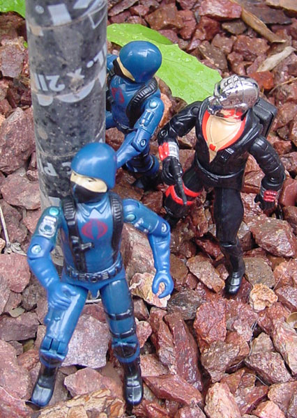 1983 Destro, Cobra Trooper, Rock and Roll, Breaker