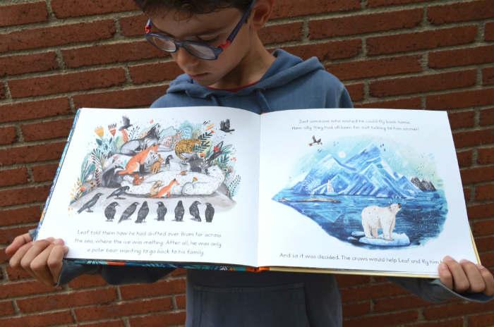 los mejores cuentos y libros infantiles en inglés Leaf, sandra dieckmann